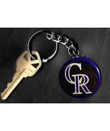Colorado Rockies Retro LOGO Keychain Key Chain - $6.78