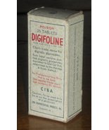 Ciba Digifoline Vintage Drugstore Patent Medicine - $15.99