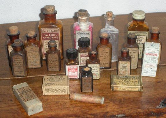 Ciba Digifoline Vintage Drugstore Patent Medicine