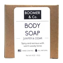 Cedar soap bar 0 20 all american made bath body boomer co mens grooming punky paper 591 thumb200