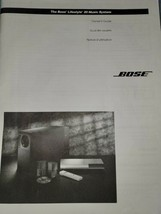 Bose Lifestyle 20 Music System Owners Guide Bilingual  - $12.86