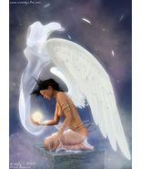 ENOCHIAN Magick ENHANCE Hear GUARDIAN ANGEL SPIRIT GUIDE Psychic CONTACT SPELL - $14.99
