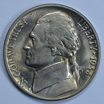 1938 D Jefferson uncirculated nickel BU - $14.00