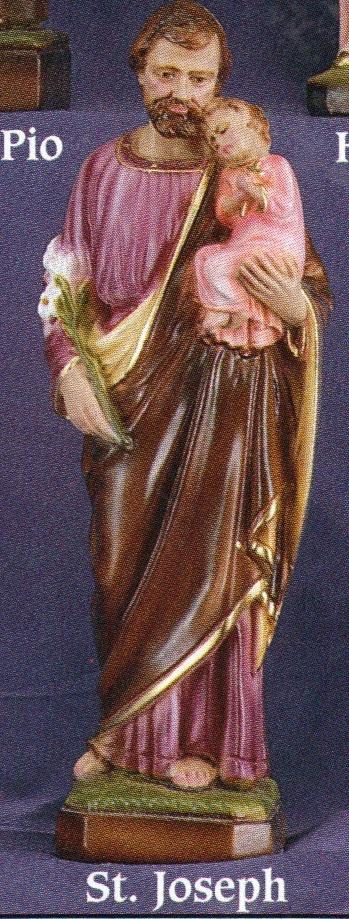 St. joseph 24 inch statue