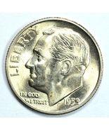 1952 S Roosevelt uncirculated silver dime BU  F... - $18.00