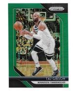 2018-19 Panini Prizm Taj Gibson Green Prizm Refractor Card #97 - $1.24