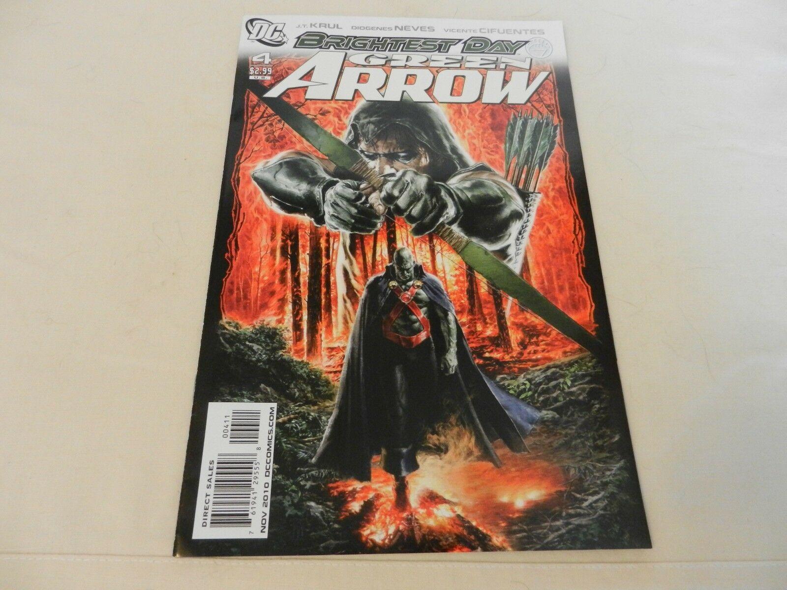 Brightest Day Green Arrow DC Comics #4 November 2010