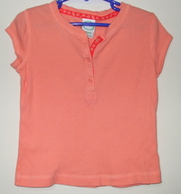 Girls Circo Peach Short Sleeve Cotton Top Size XS - $3.95
