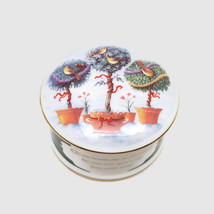 Wedgwood 4 Collie Birds Twelve Days Of Christmas Bone China Trinket Box - $47.53