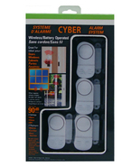 Sonic / Cyber Window and Door Alarm 4 pack - $15.00