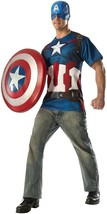 Rubies Avengers 2 Age Of Ultron Captain America Mens Halloween Costume 8... - $20.28