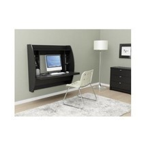 Computer Office Desk Floating Shelves Wall Mount Livingroom Den Storage ... - $280.49