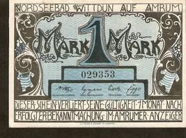 Germany - Nordseebad Wittdun auf Amrum 1 Mark Kriegsnotgeld - no. 029353 - $6.00