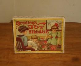 1909 Milton Bradley's Toy Village Play Set - $59.99
