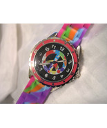 MOOD DIAL - Ladies Tie Dyed Watch - Peace Sign - Mood Activated - w/batt - $19.99