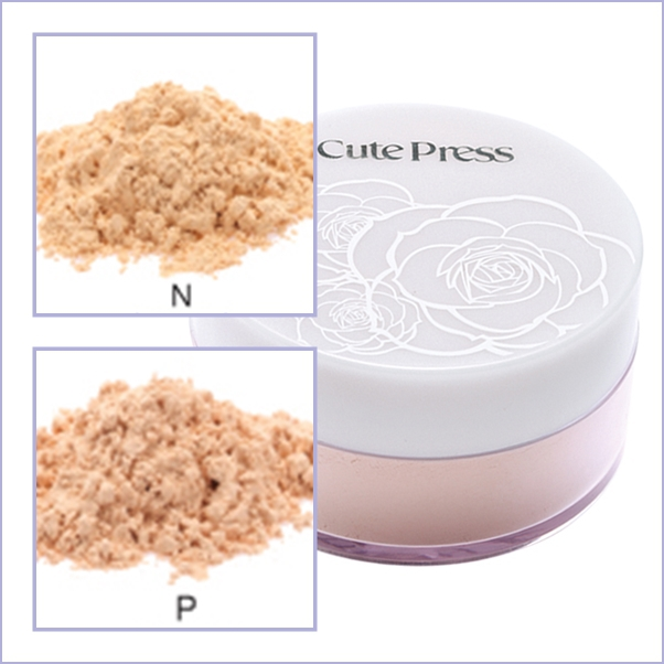 CutePress EVORY RADIANCE LOOSE POWDER SPF 30 PA++