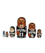 San Antonio Spurs nesting doll matryoshka babu... - $59.90