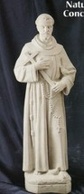 St. francis 24 inch natural concrete thumb200