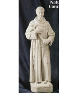 St. Francis - 24 inch - Natural Concrete Statue - $315.95