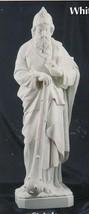 St. Jude - 24 inch - White Concrete Statue