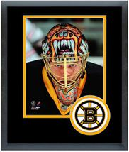 Tuukka Rask 2009-10 Boston Bruins - 11 x 14 Team Logo Matted/Framed Photo - $43.55