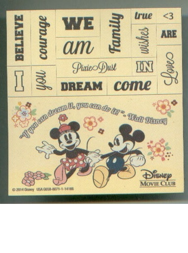 Walt Disney FRIDGIE MAGNET lot Mickey Mouse / Donald / Thumper / Pocahontas +