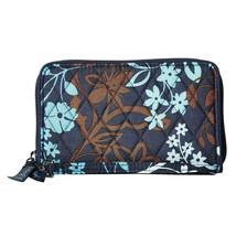 Vera Bradley Java Floral RFID Grab and Go Card Holder Wristlet Wallet NWT - $26.24