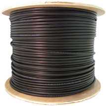 Direct Burial/Outdoor rated Cat6 Black Ethernet Cable, Solid, CMXT, 1000... - $380.29