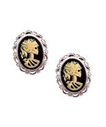 Skeleton Earrings - Lolita Halloween Jewelry - $28.00