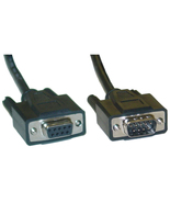 6 ft Serial Extension Cable, DB9 Male to DB9 Female, RS232 - 845-10D1-03... - $5.91