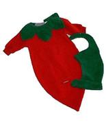 Preemie & Newborn Chili Pepper Halloween Costume   - $30.00