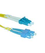 Fiber Optic Cable, LC / SC, Singlemode, Duplex, 9/125, 1 meter (3.3 foot) - $16.58