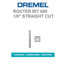 New Authentic Dremel 650 Router Bit High Grade Steel, High Speed Cutter - $6.99