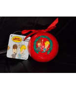 MTV Beavis & Butt-Head Red Bulb Christmas Ornam... - $14.99