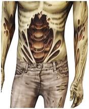 Adult Walker Zombie Halloween Morphsuit Costume 2XL image 2