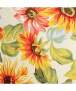 Longaberger Small Wall Pocket Basket Sunflower Fabric Over Edge New In Bag - $11.83