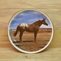 APPALOOSA HORSE 1977 GORHAM PLATE  on cloud nine  LE #311/1000 REAGAN GA... - $10.93