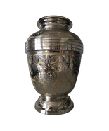 Large Size Golden Royal Look Adult Cremation Urn For Human Ashes - $249.00