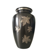 Large Size Classic Falling Leaves Urn For Human Ashes - $233.00