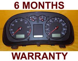 2001 2002 2003 VW Golf Jetta Speedometer Instrument Cluster - 6 Months W... - $98.95