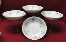 Set Four (4) Royal Doulton China - Pastoral Pattern H4810 - DESSERT/FRUIT Bowls - $29.95