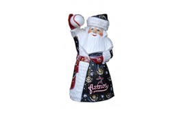Wooden carved doll Santa Claus Houston Astros, 6 inches - $59.90