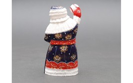 Wooden carved doll Santa Claus Houston Astros, 6 inches image 2