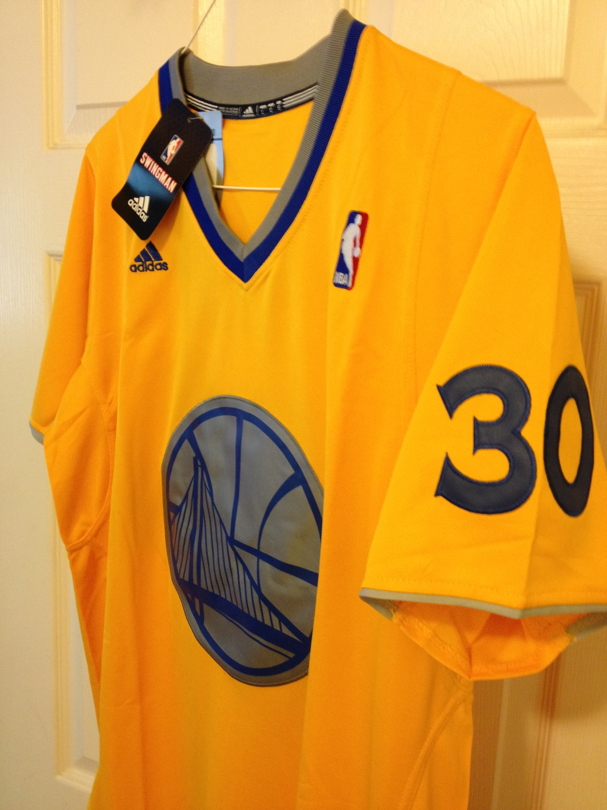 Stephen Curry Adidas Christmas Day Jersey 2013 image 5