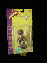 Universal Studios Monsters Big Little Heads Figure New Wolfman - $17.99