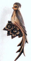 VINTAGE STERLING SILVER MEXICO BIRD PIN - $20.78
