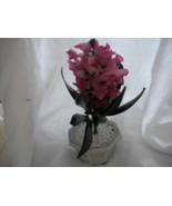 Glass Flower in Pot - $7.00