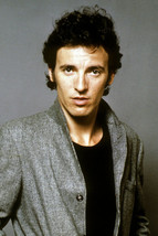 Bruce Springsteen The Boss young pose early 1980's 8x12 inch real photog... - $11.75