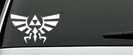 Legend of Zelda Hyrule Crest vinyl decal stickers 1 pair - $12.99