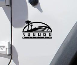 Jeep Sahara Vinyl Fender Decals 1 Pair - $12.00